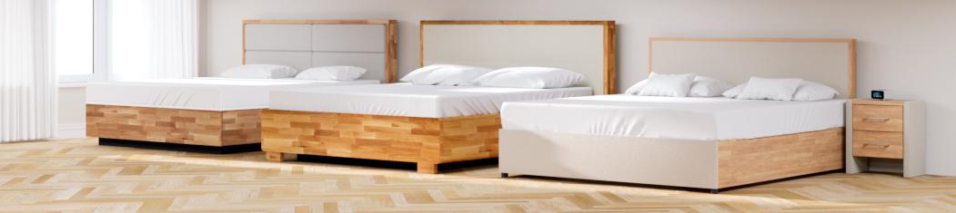 Massivholzbetten - Wasserbetten mit massivem Holzrahmen