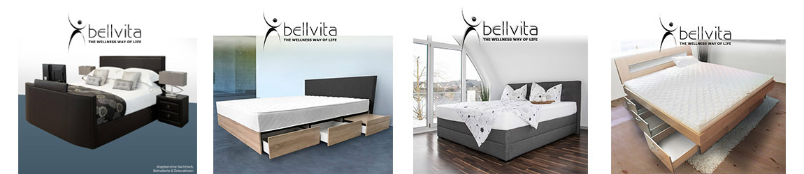 wasserbett online kaufen direkt vom hersteller mit montage bellvita wasserbetten onlineshop. Black Bedroom Furniture Sets. Home Design Ideas