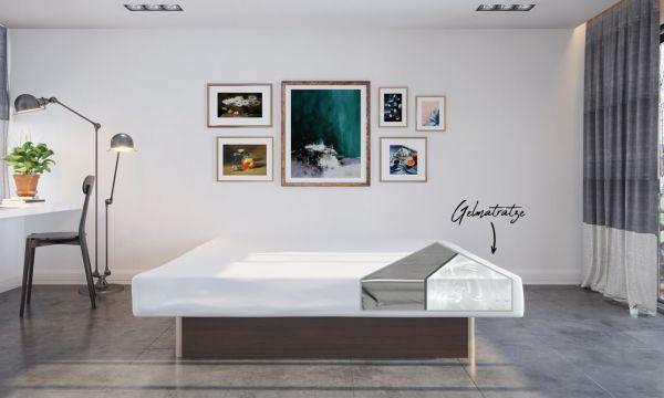 Bellvita Gelmatratze / Gelbett