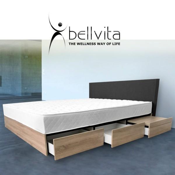 Bellvita Mesamoll Wasserbett Fashion Mit Schubladen Und Kopfteil