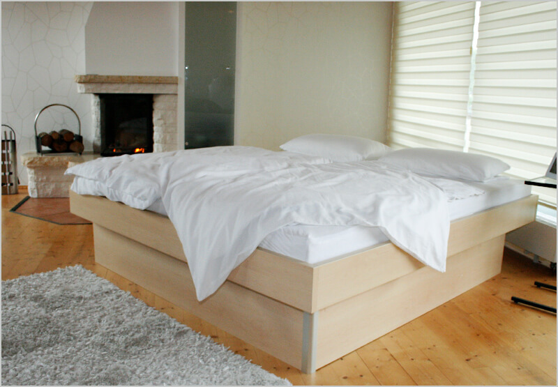 bellvita Wasserbett mit Bettumrandung
