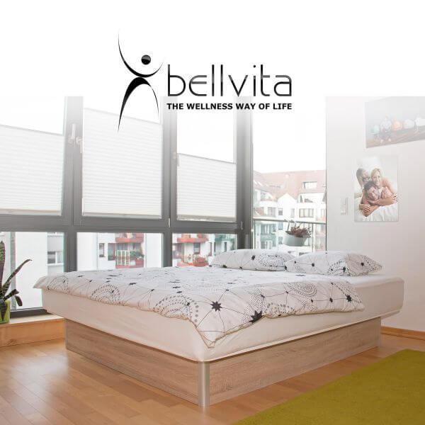 bellvita classicline Wasserbett mit Unterbausockel
