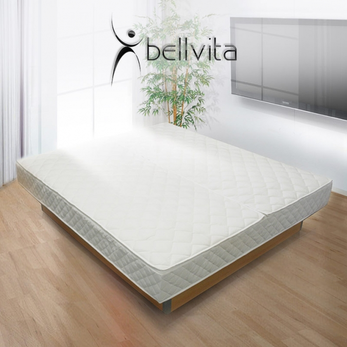 bellvita silverline wasserbett mit unterbausockel. Black Bedroom Furniture Sets. Home Design Ideas