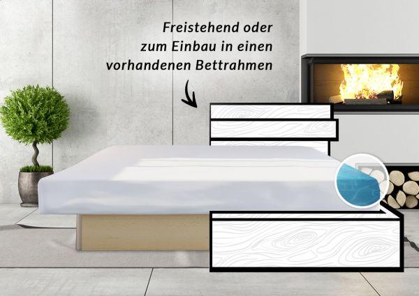 classicline Wasserbett mit Unterbausockel Sonderaktion