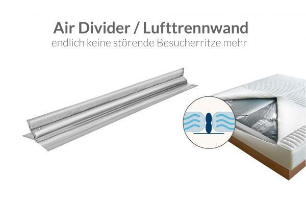 Wasserbetten Lufttrennwand für Dual System - Air Divider