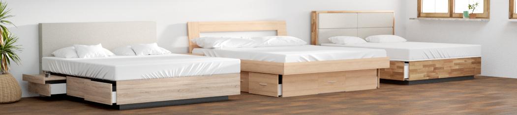 Schubkastenbetten - Wasserbetten mit Schubladen