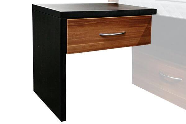 """bellvita Wasserbetten Nachttisch mit einer Schublade zum Auflegen auf die Bettumrandung """"Classic"""""""