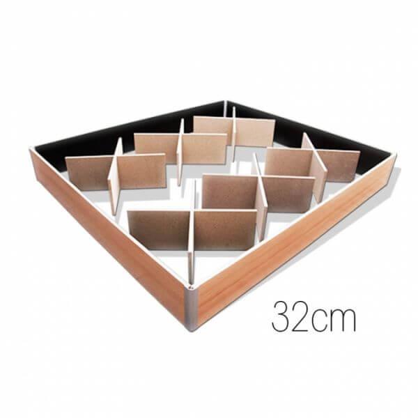 Wasserbetten-Unterbausockel 32cm mit Gewichtsverteilern