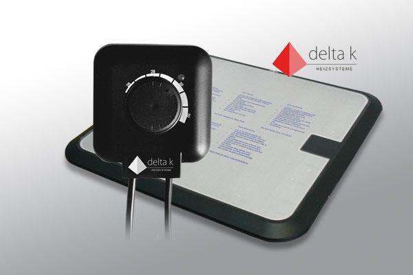 Delta K 160 Watt keramische Wasserbettheizung