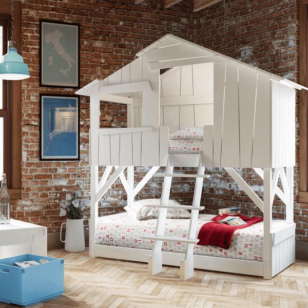 bellvita Kinder - Wasserbett im Baumhaus - guter Schlaf für Ihre Liebsten